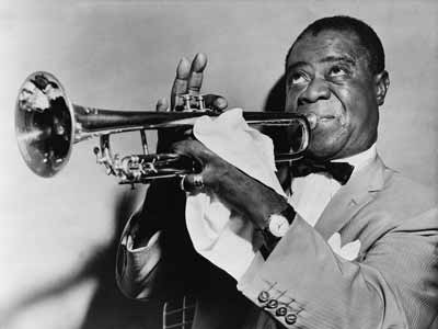 Jazz great Louis Armstrong, who had the unique nickname of Satchmo
