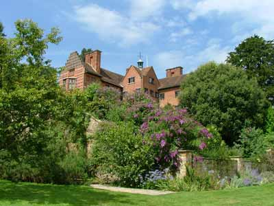 Chartwell, home of Winston Churchill. Winston is an unusual cat name.